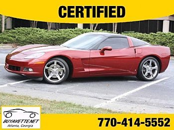 2006 Chevrolet Corvette Coupe for sale 100771178