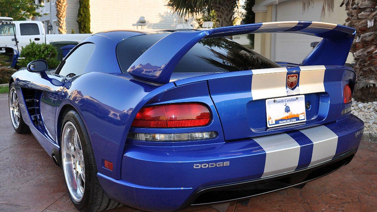 2006 dodge viper srt 10 coupe for sale near north myrtle beach south carolina 29582 classics. Black Bedroom Furniture Sets. Home Design Ideas