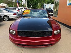 2006 Ford Mustang Convertible for sale 100989928
