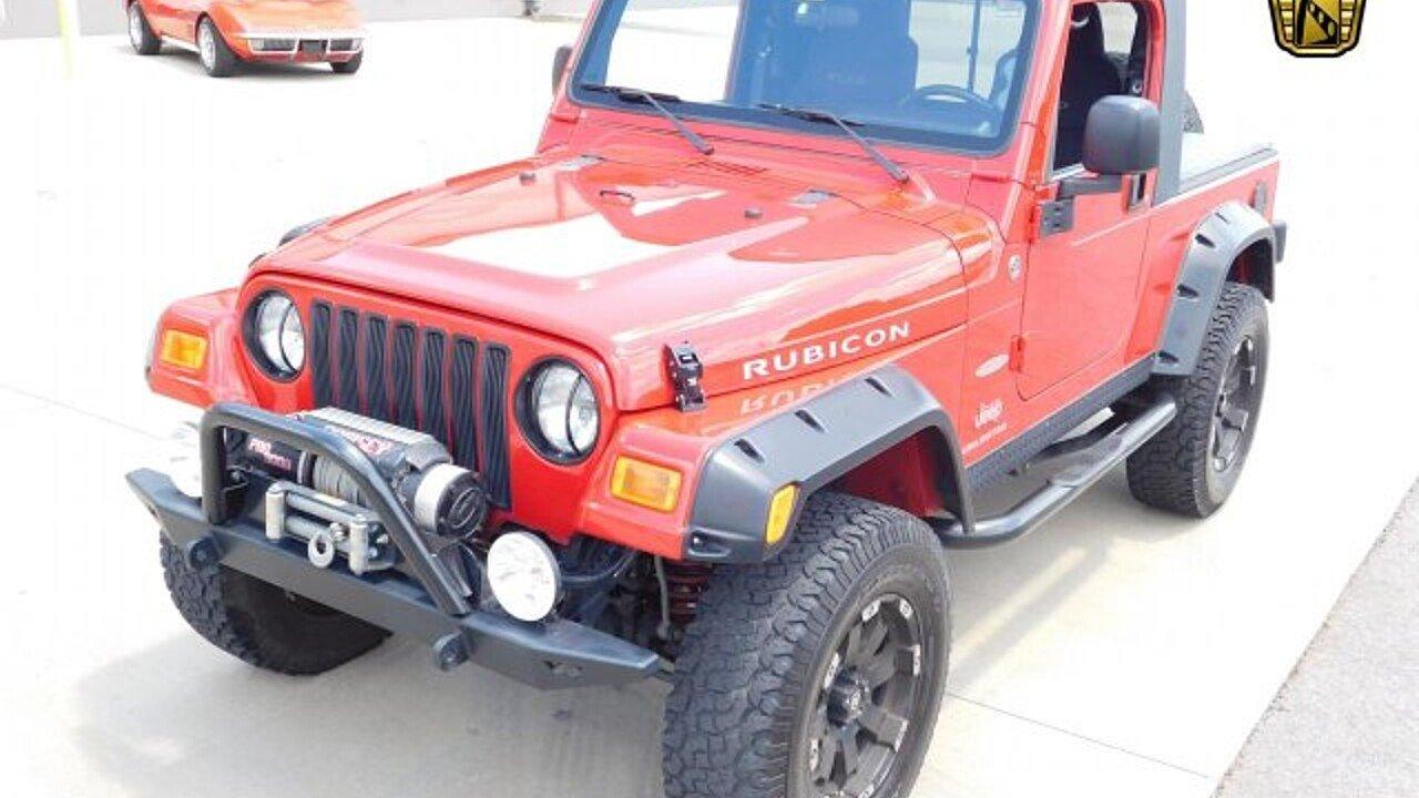 2006 Jeep Wrangler 4wd Unlimited Rubicon For Sale Near O Fallon Hood 101002619