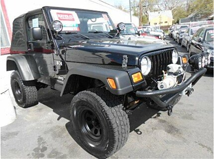 2006 Jeep Wrangler 4WD X for sale 100969632