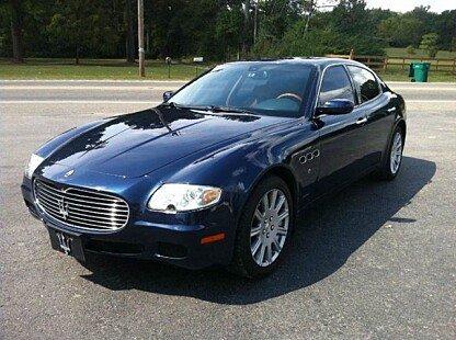 2006 Maserati Quattroporte for sale 100850652