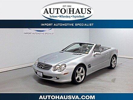 2006 Mercedes-Benz SL500 for sale 101048803