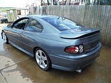 2006 Pontiac GTO for sale 100972986