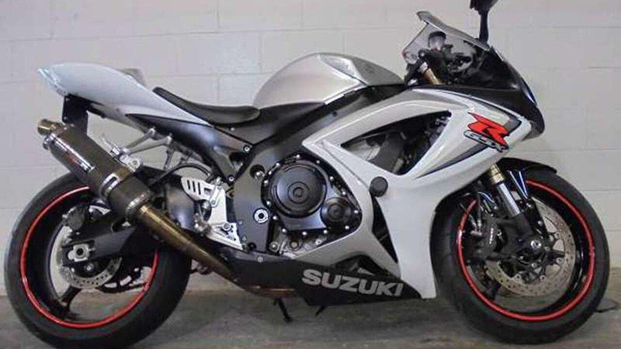 2006 Suzuki GSX-R600 for sale 200431105