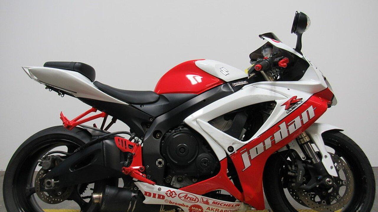 2006 Suzuki GSX-R600 for sale 200551651
