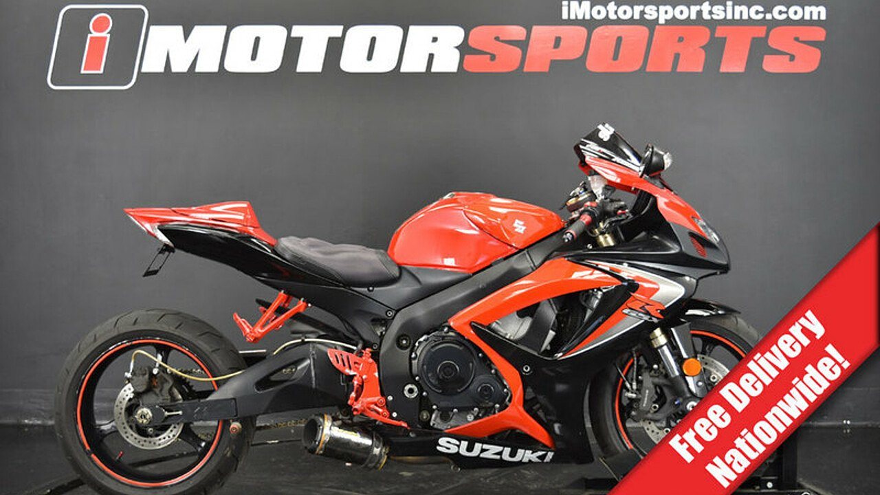 2006 Suzuki GSX-R600 for sale 200611828