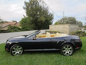 2007 Bentley Continental GTC Convertible for sale 100838305