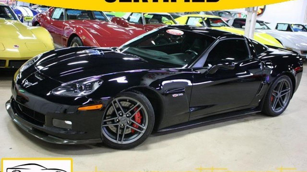2007 Chevrolet Corvette Z06 Coupe for sale 100961084
