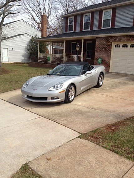 2007 Chevrolet Corvette Convertible for sale 100752486