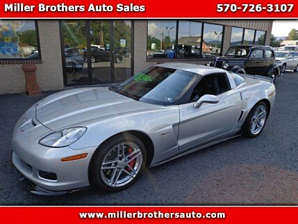 2007 Chevrolet Corvette Z06 Coupe for sale 100904371