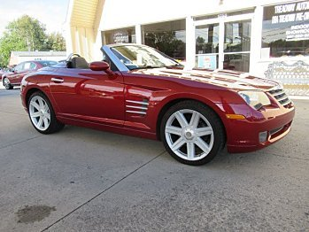 2007 Chrysler Crossfire Limited Convertible for sale 101042514