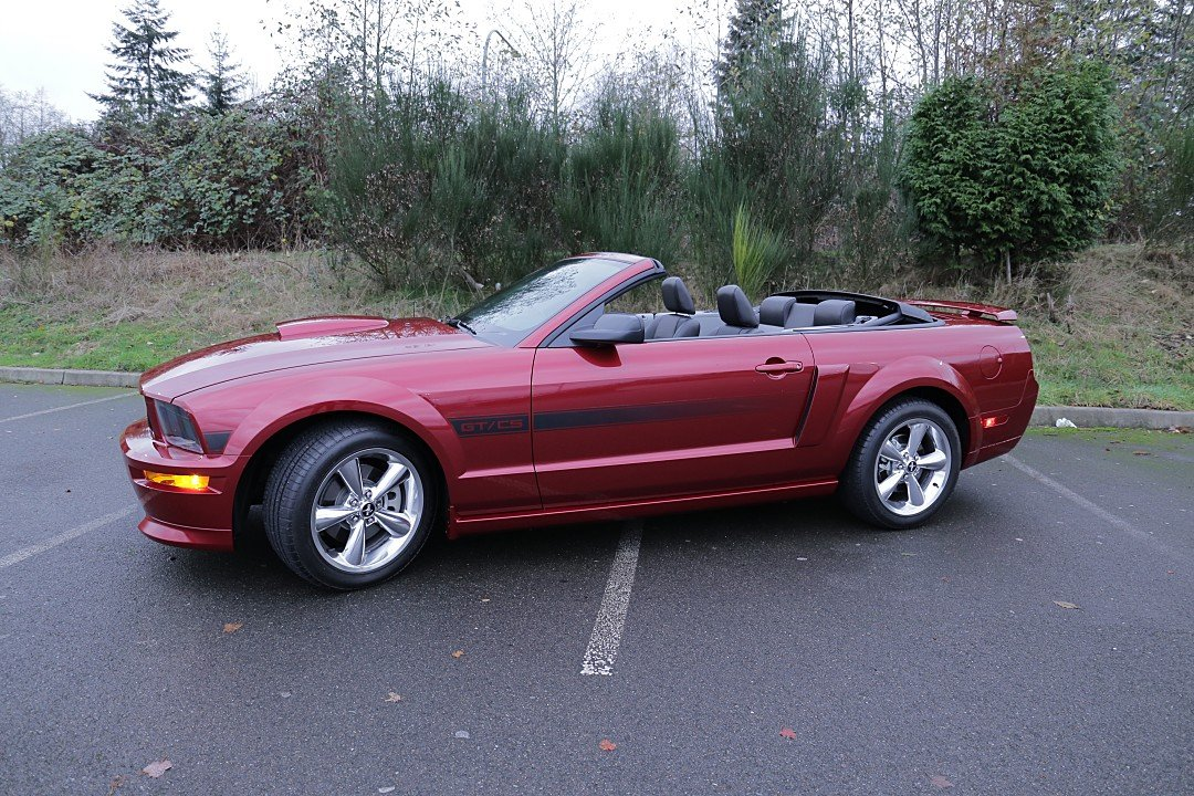 2007 Ford Mustang GT Convertible for sale 100855891
