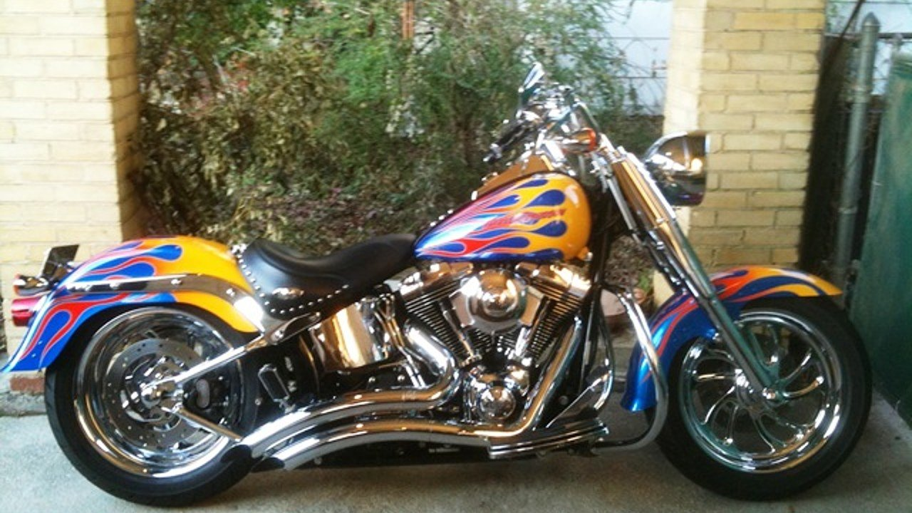 2007 harley davidson softail fat boy for sale near decatur. Black Bedroom Furniture Sets. Home Design Ideas