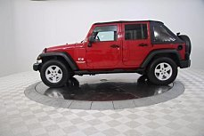 2007 Jeep Wrangler 2WD Unlimited X for sale 100919784