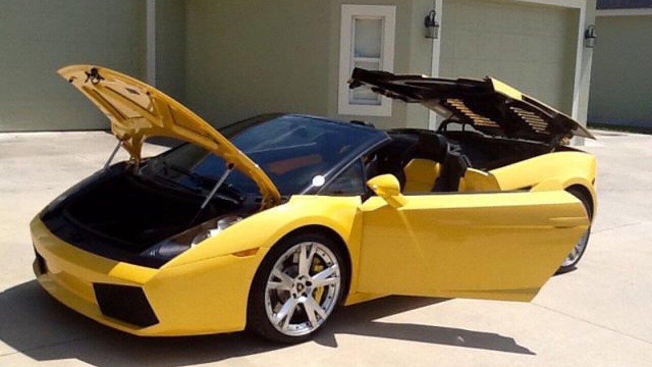 2007 Lamborghini Gallardo Spyder for sale near Riverhead, New York ...