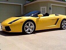 2007 Lamborghini Gallardo Spyder for sale 100753954