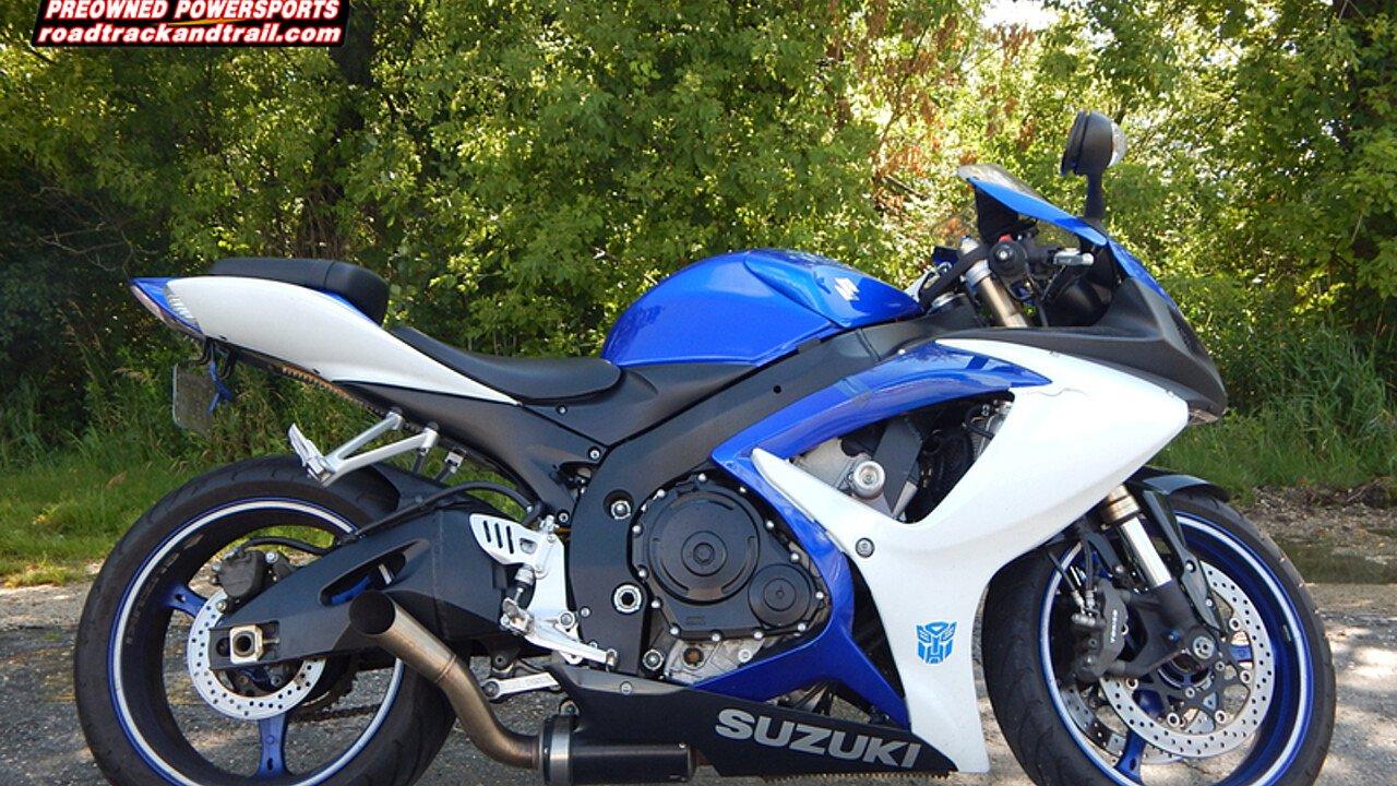 2007 Suzuki GSX-R600 for sale 200477606