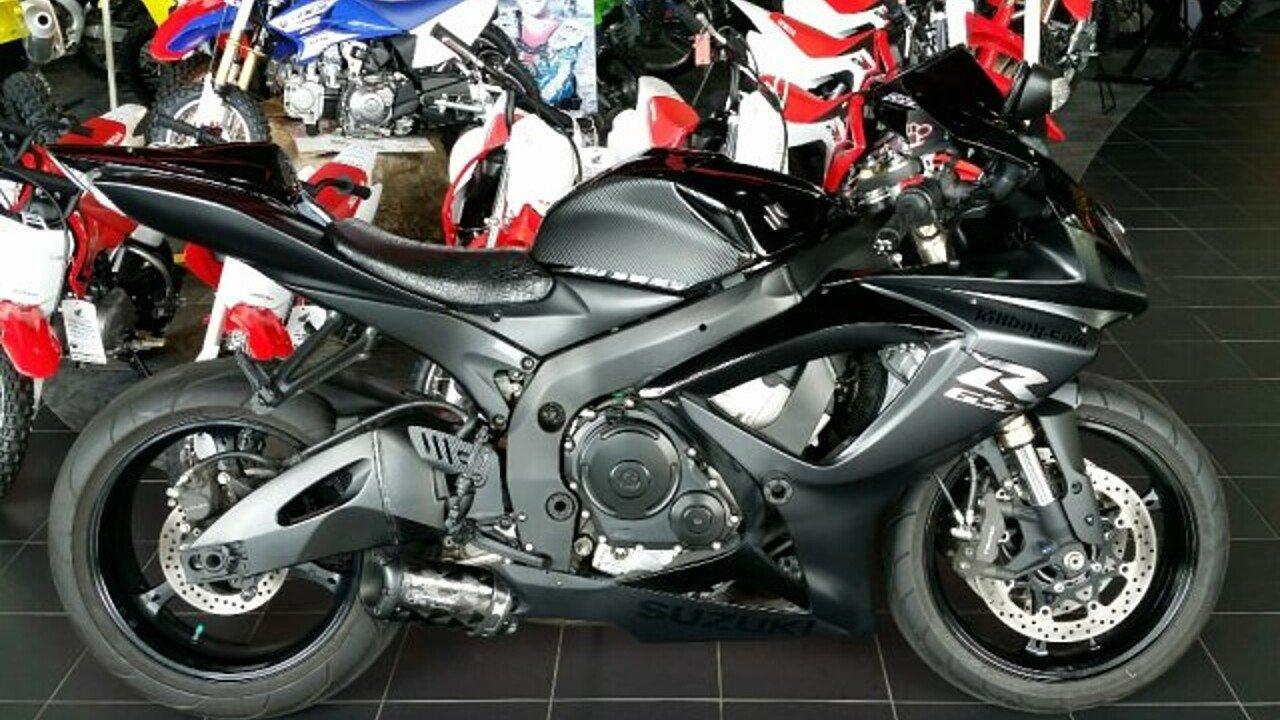 2007 Suzuki GSX-R600 for sale 200483614