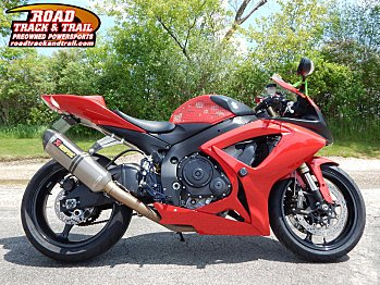 2007 Suzuki GSX-R600 for sale 200582866