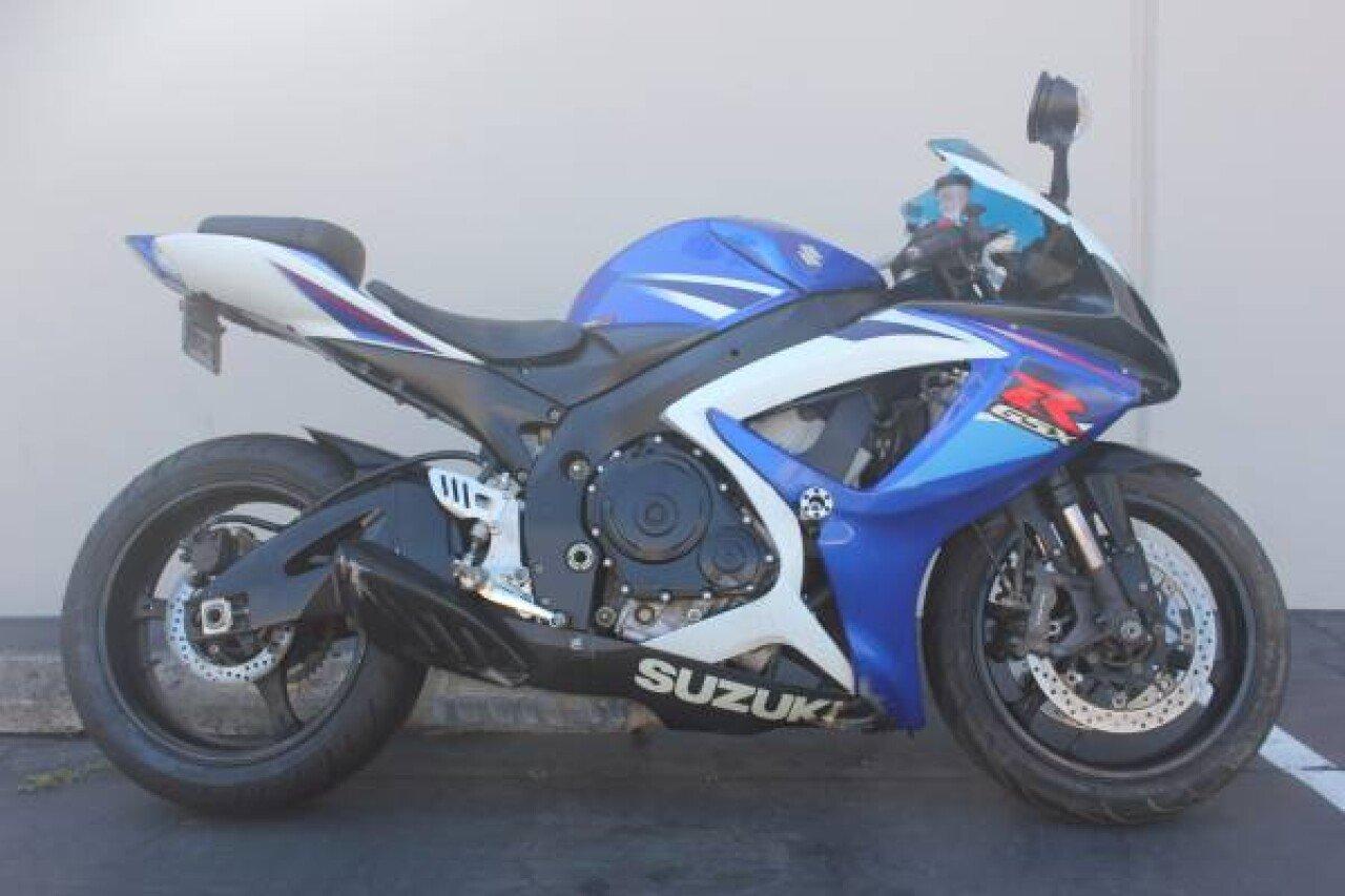 2007 Suzuki GSX R750 for sale near Santa Clara California