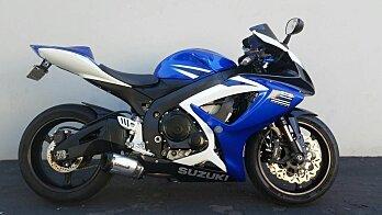 2007 Suzuki GSX-R750 for sale 200514078