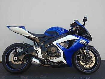 2007 Suzuki GSX-R750 for sale 200615496