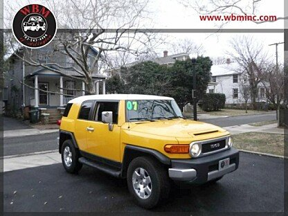 2007 Toyota FJ Cruiser 4WD for sale 100947428