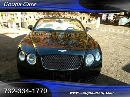 2008 Bentley Continental GTC Convertible for sale 100815461