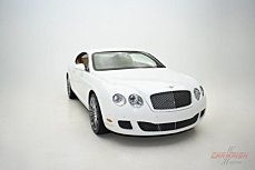 2008 Bentley Continental GT Speed for sale 100910490