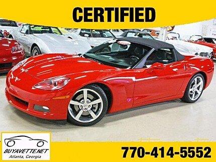 2008 Chevrolet Corvette Convertible for sale 100901168
