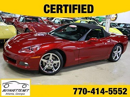 2008 Chevrolet Corvette Convertible for sale 100969965