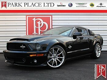 2008 Ford Mustang Shelby GT500 Coupe for sale 100930988