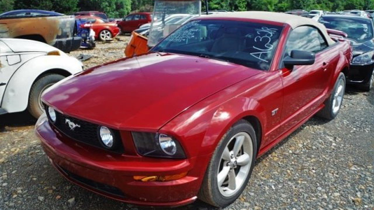 2008 ford mustang gt convertible for sale near bedford. Black Bedroom Furniture Sets. Home Design Ideas
