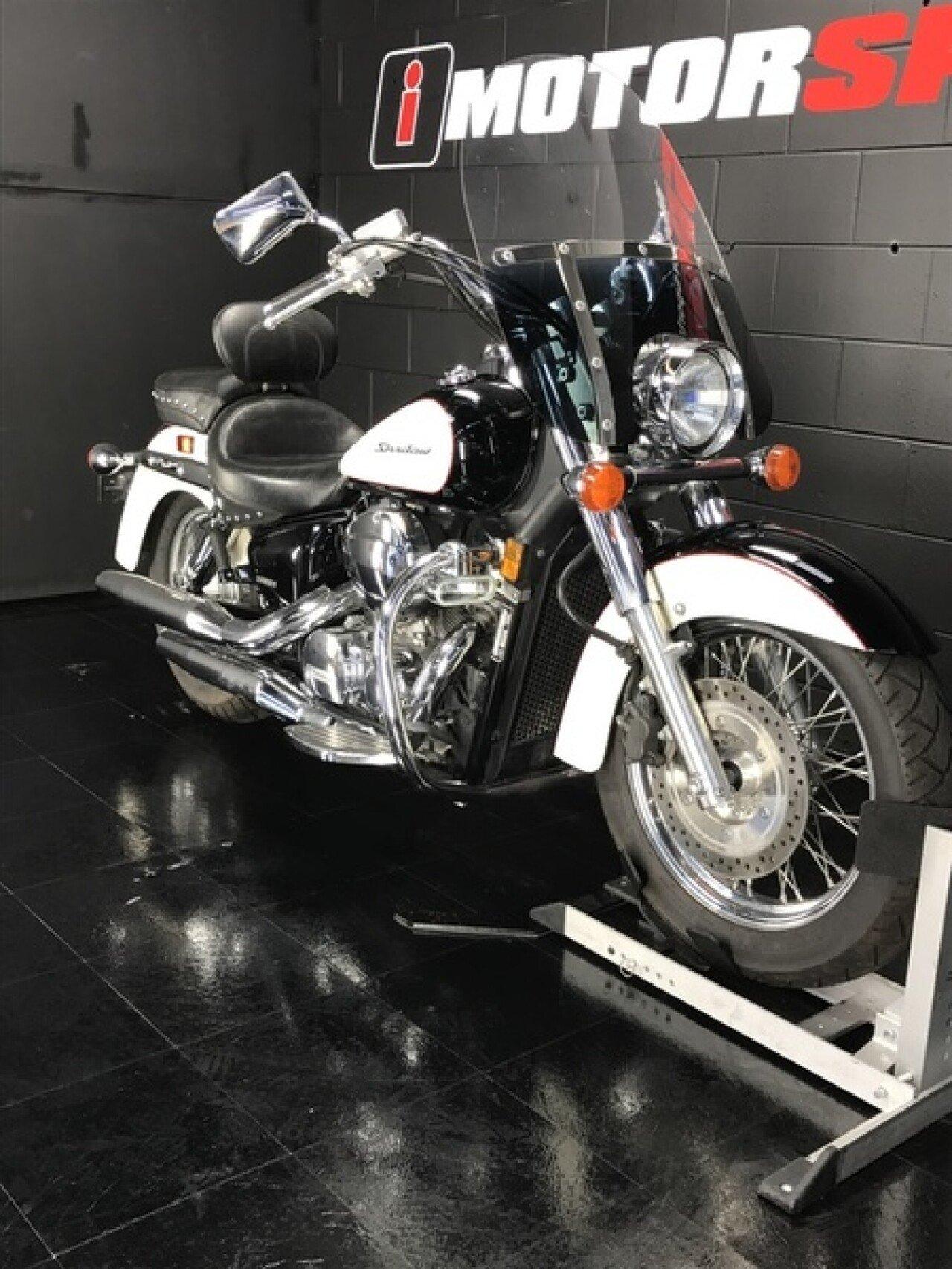 2008 Honda Shadow For Sale Near Saint Petersburg Florida