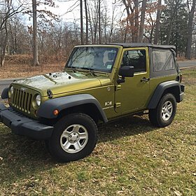 2008 Jeep Wrangler 4WD X for sale 100756791
