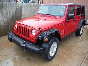 2008 Jeep Wrangler 4WD Unlimited X for sale 100742445