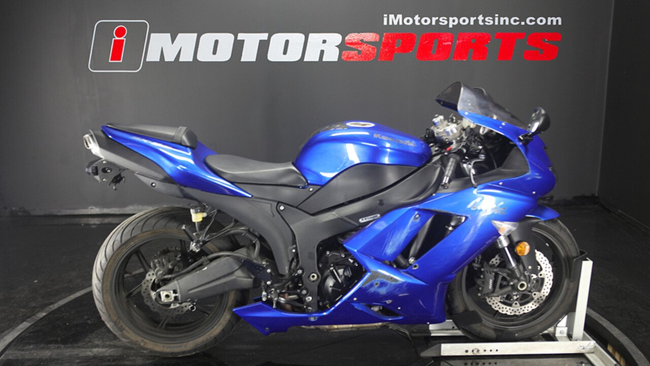 2008 Kawasaki Ninja ZX-6R for sale 200597497