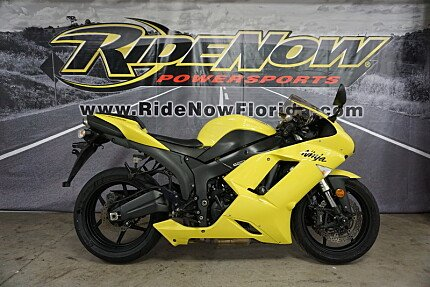 2008 Kawasaki Ninja ZX 6R For Sale 200570207