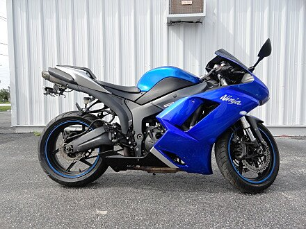 2008 Kawasaki Ninja ZX-6R for sale 200587482