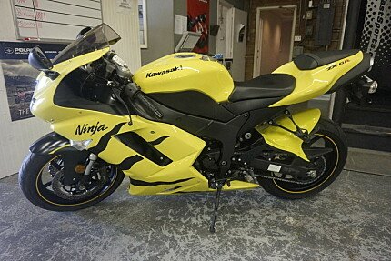 2008 Kawasaki Ninja ZX-6R for sale 200590213