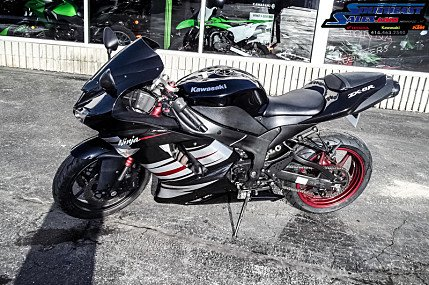 2008 Kawasaki Ninja ZX-6R for sale 200618239