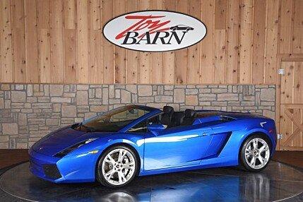 2008 Lamborghini Gallardo Spyder for sale 100848735