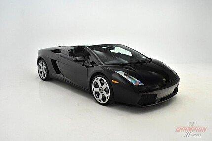 2008 Lamborghini Gallardo Spyder for sale 100968563