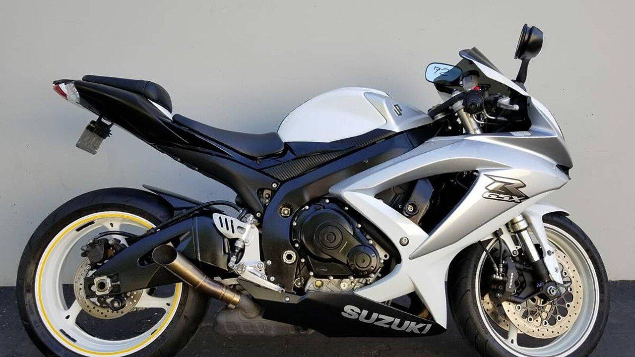 2008 Suzuki GSX-R600 for sale 200570609