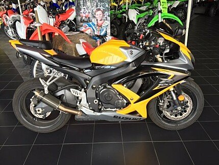 2008 Suzuki GSX-R600 for sale 200377515
