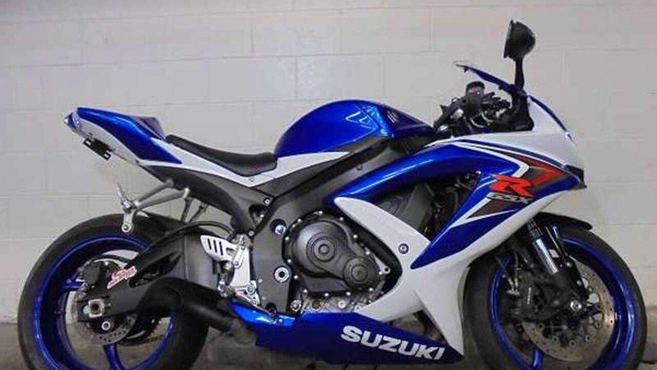 2008 Suzuki GSX-R750 for sale 200431275