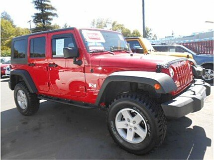2008 jeep Wrangler 4WD Unlimited X for sale 101025622