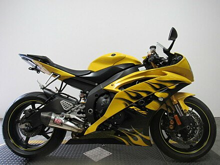 2008 yamaha YZF-R6 for sale 200610942