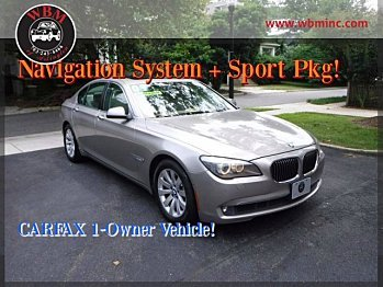 2009 BMW 750i for sale 100890083